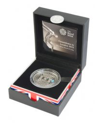 2012 Silver Proof £5 Coin Count Down to the Olympics